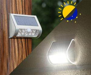 China Solar Wall Lights 9 LED Wireless Waterproof Motion Sensor Outdoor Solar Lamp on sale
