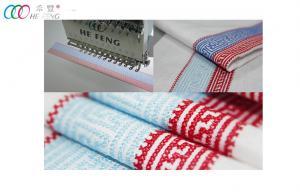 China Leather / Hat Cross-stitch Single Head embroidery Machine 9 needle 220V / 50Hz on sale
