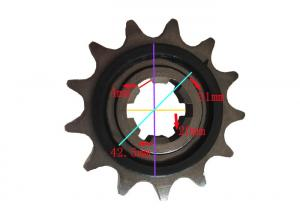 China Rubber Mat Roller Motorcycle Sprocket Chain 13T Fully Operate ERP System on sale