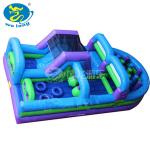 Wholesale Giant Outdoor Frozen Inflatable Jumping Castle/Bounce House with Slide