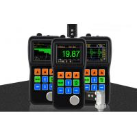 OLED Screen Echo-Echo Mode Ultrasonic Thickness Gauge with Color Waveform