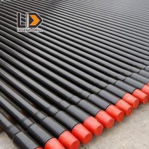 China Round Shape Threaded Drill Rod 1525 - 6110mm For Rock / Mining Drill Machinery on sale