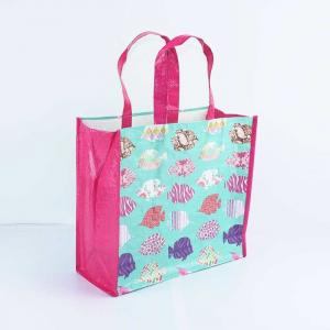 China Heat Transfer Polypropylene Woven Bags Anti Pull For Shopping on sale