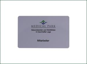 China 4c Offset Printing Blank RFID Cards / Hotel Management Printable RFID Cards on sale