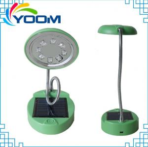China Bright 8 leds YMC-L02 popular USB cable rechargeable emergency portable solar lamp led on sale