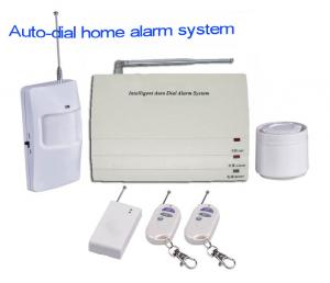 China AUTO-DIAL ALARM SYSTEM PSTN,Public Switched Telephone Network,Wireless GSM Alarm on sale