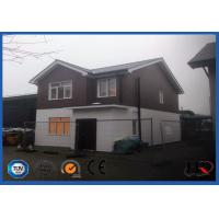 China 120sqm Luxury Light Steel Structure Villa / Prefabricated House Kits on sale
