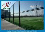 Au sol de sports durable clôturant, barrière de chaîne à maillons pour l'au sol de tennis