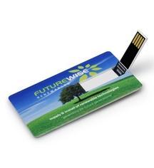 China 2-4G USB 2.0 Plastic Stick credit card usb flash drive on sale