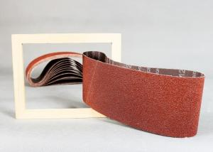 China 4 x 36 Aluminum Oxide Sanding Belts Resin For Long Belt Machine on sale