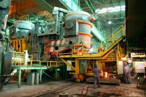 China Horizontal CCM Continuous Casting Machine Durable With Square Section Size 300x300 Mm on sale