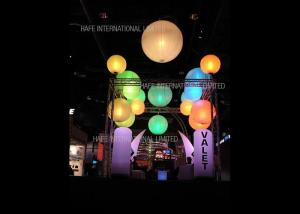 China 2m Vivid Hanging Inflatable 480W LED Balloon Lamp Full Printing For Party / Wedding on sale