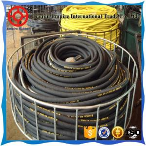 China CNOOC  cooperated supplier anti-leakage high pressure gas station fuel rubber hose on sale