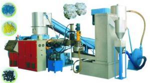 China ANIMAL DOMÉSTICO, PP, LDPE, picosegundo, película del HDPE que recicla la línea equipo de la granulación del plástico on sale