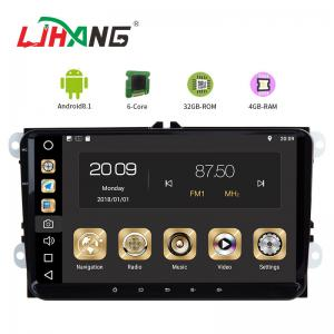 China Android 8.1 Car Dvd Player For Volkswagen Canbus Radio GPS 3G WIFI USB Map on sale