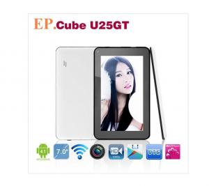 China Cube U25GT 7inch android 4.1 tablet PC 512RAM 8GB ROM RockChip RK2928 1.0GHz  on sale