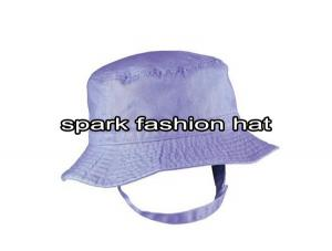Quality Purple fashion bucket fisherman hat for girls for sale