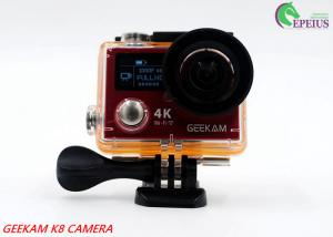 China 2.4G Remote VR 360 Panoramic Video CameraK8R 170° Angle With Dual Screen on sale