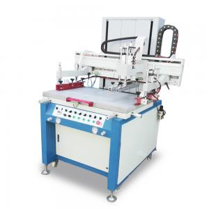 China PLC Control Screen Printing Press Machine With Sensitive Proximity Switch on sale
