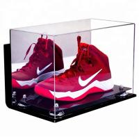 High Transparent Clear Acrylic Shoe Display Case Acrylic Display Case Box