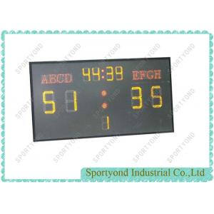 China Football Scoring Boards , Electronics Soccer Scoreboard , Wireless Controller on sale