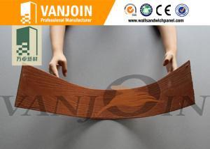 China Anti Fungal Fire Retardant Soft Ceramic Tile , Soft Wood Grain Tile on sale