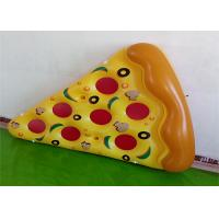 Giant Yellow Pizza Floating Water Mat Summer Water Toys 0.25mm PVC