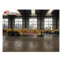 High Tensile Steel Terminal Trailer With Two Pieces Spare Tire Carriers