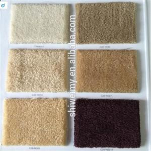 China Solid twist pile 100%piece dyed Nylon carpet on sale