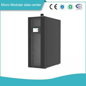 China Basic 8 Slots Micro Modular Data Center Coupled With Full Funtional Monitoring System on sale