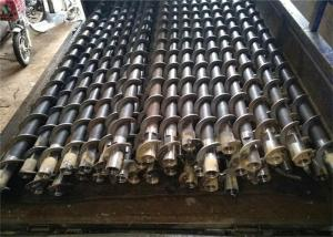 China Diameter 300-1200mm Long Spiral Rock Drill Rods High Elasticity ISO9001 Listed on sale