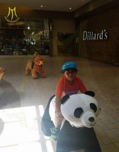 China Hansel factory price arcade games amusement stuffed ride on unicorn toys on sale