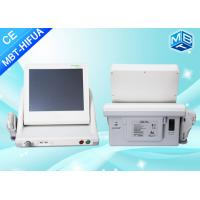 Vertical 8mm 13mm Smas Ultrasound Hifu Face Lift High Intensity Focused Ultrasound Machine / 5 Heads