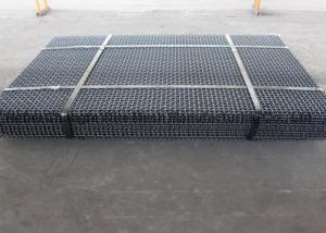China Vibrating Screen Wire Mesh Eavy Impact Resistance , High Carbon Steel 4mm Square Weave Wire Mesh on sale