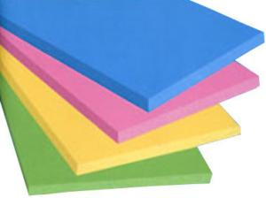 China Decorative XPS Extruded Polystyrene Insulation Board Colorful Lightweight on sale
