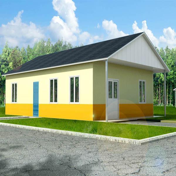 Corrosion Resistance Two Bedroom Modular Homes Prefab