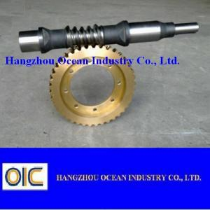 China European Standard Worm Gears, type M0.5 M1 M1.5 M2 M2.5 M3 M3.5 M4 M4.5 M5 M5.5 M6 M7 M8 M9 M10 M11 M12 on sale