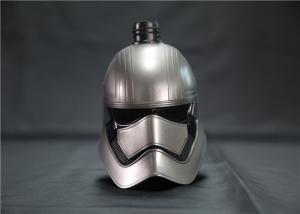 China Star Wars Helmet Design Plastic Shampoo Bottles OEM / ODM Acceptable on sale