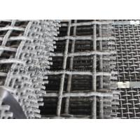Vibrating Stone Crushers Metal Mesh Screen , Spring Steel Wire Mesh 65Mn 45Mn