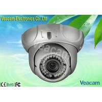 Outside Adjusting DC12V 450mA Vandal Proof Dome Camera With 30M IR Working Distance