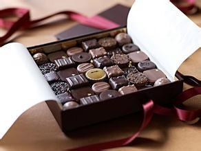 China Happy New Year Sweet Chocolate Paper Gift Box on sale