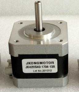 China 2.55V 1.8degree 2 Phase Step Motor 42mm holding torque 4.2kg.cm 1.7A on sale