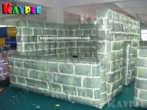China Inflatable paintball Bunker Buidling,digital printing Deluxe Tactical Field,KPB030 on sale