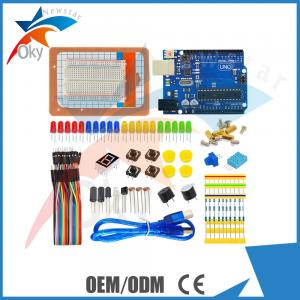 China Based diy educational learning starter kit for Arduino 400 holes bread board USB Cable 255g on sale