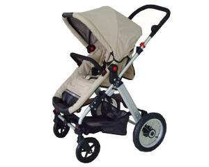 China Lovely new style baby carriage stroller / buggy with aluminum frame on sale