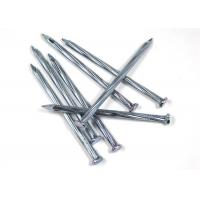 4.8mm / 80mm Iron Wire Nails , Low Carbon Steel Galvanized Common Nails