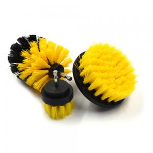 China Grout Cordless Drill Wire Brush , Power Drill Scrubber Plastic / Steel Base supplier