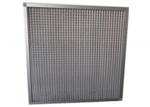 China HVAC System Metal Mesh Prefilter HEPA Air Filter For Cleanroom , Primary Filter For Industry on sale