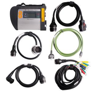 China MB SD Connect Compact 4 Star Diagnosis with multi-language Auto Diagnostics Tools on sale