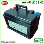 High quality rechargeable solar battery with deep cycle life SPD2622